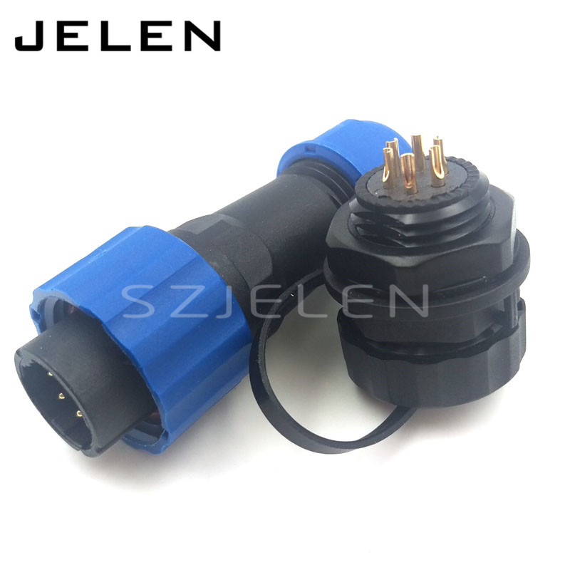 SD16 ,Opening size 16mm, 6 Pin waterproof connector, IP68, cable connector male  female. auto connectors, electrical connectors 71626 1007 i o connectors lfh vt female 30au female 30au 16 mr li