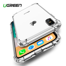 Ugreen Case For iPhone 7 8 Plus Case Shock-proof Back Cover For iPhone X Xs Max Phone Case HD Clear Protective For iPhone 7 Case(China)