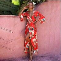 Hot sell Sexy Women Boho Maxi Club Dress Red Bandage Long Dress Party Multiway Bridesmaids Convertible Infinity Robe Longue