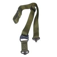 Novo 2016 Militar Do Exército Verde Multitarefa Tático Estilingue Arma Giratória QD Rápida Separar Rifle Gun Sling Strap para Fotografar Ao Ar Livre