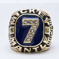 Wholesale Newest Design 1956 Mickey Mantle Baseball Zinc Alloy gold plated Custom Sports Replica World Championship Ring for Men