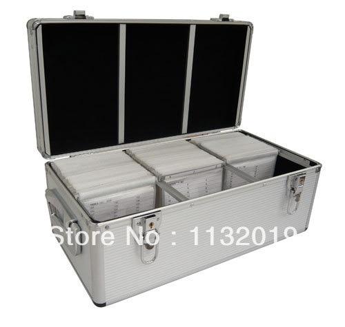 Gray Handle Aluminum CD DVD Storage Case / 300 CD Case With Lock  Silver  sc 1 st  AliExpress.com & Gray Handle Aluminum CD DVD Storage Case / 300 CD Case With Lock ...
