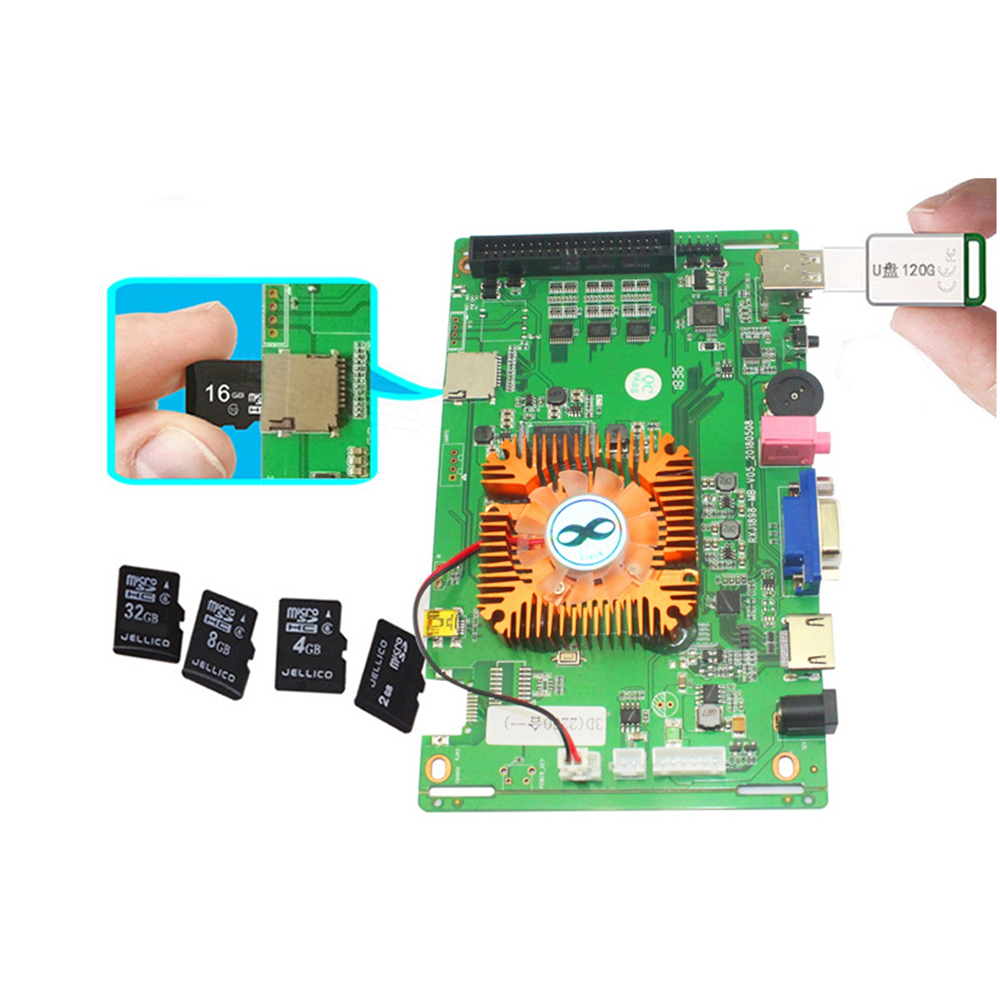 2260 in 1 VGA Multi PCB Board for Pandora Box 2260 Games Arcade Video Console w/ 32G SD Card 3D Game Board PCB Motherboard 2260 in 1 VGA Multi PCB Board for Pandora Box 2260 Games Arcade Video Console w/ 32G SD Card 3D Game Board PCB Motherboard