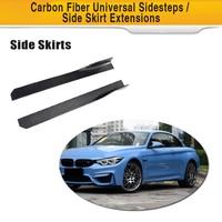 Carbon Fiber Auto Side Skirt for BMW M2 M3 M4 F30 G30 Sedan Coupe ect Universal Cars