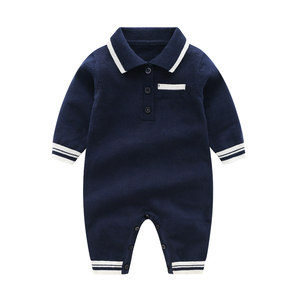 Image 2 - רגש אמהות חורף תינוק Rompers תינוק ילד בגדי סוודר תרמית יילוד תינוקת בגדים ארוך שרוול תינוק סרבל