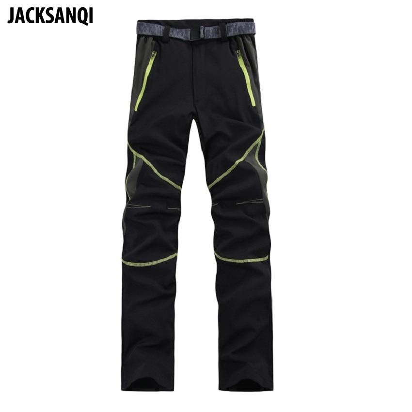 JACKSANQI Men's Summer Quick Dry Ultra Thin Pants Outdoor Stretch Hiking Pants Mountain Climbing Trekking Cycling Trousers RA010