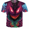 Fashion Clothing Hyper beast T-Shirt psychedelic tops Women Men Casual Tshirt 3d Harajuku t shirt Outfits Cotton Tee