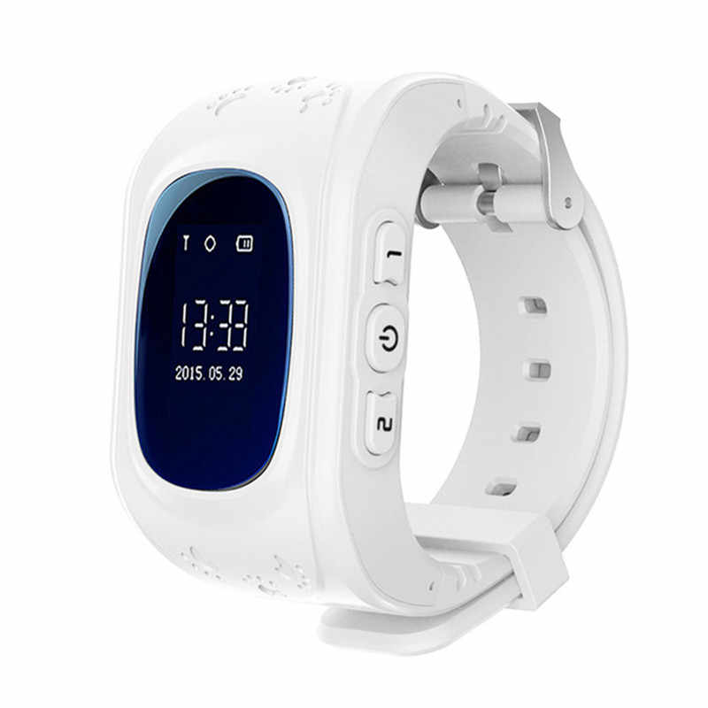 Kids Smart Watch GPS Children Watch Phone Sim Card LED Baby Smart Watch SOS Call Location Finder Anti Lost Passometer Wristband