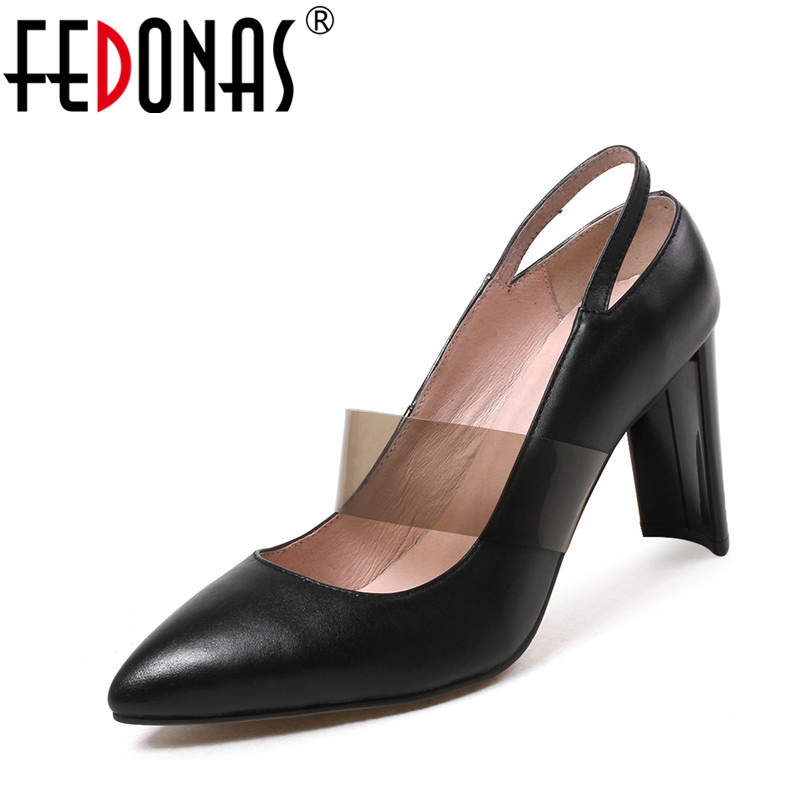 FEDONAS Spring Autumn Women Shoes Fashion Pumps Sexy Pointed Toe Super High Heels Platform Mary Jane Pumps Wedding Party Shoes цена