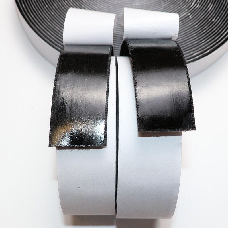 5cm 25Y Black White Hook and Loop Fastener Tape Magic Nylon Sticker Adhesive Hook Loop 50mm