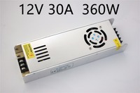 12V 30A 350W Switching power supply Driver For LED Light Strip Display Factory Supplier Mobinse Free Shipping