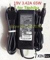 19V 3.42A 65W AC Adapter for Toshiba Satellite M40X A100-S2211TD A105 M60 M65 Series PA3714U-1ACA PA3467U-1ACA PA3917U-1ACA