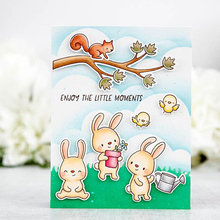 Bunny Bird Parrot Clear Silicone Stamp DIY Scrapbooking Card Album Making Background Craft Handmade Decoration Template lovely unicorn clear silicone stamp diy scrapbooking card album making background craft handmade decoration template