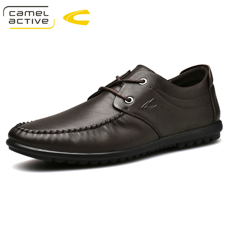 exklusives Sortiment Schönheit helle n Farbe US $49.5 25% OFF|Camel Active New Fashion Luxury Designer Mens Dress Shoes  Genuine Leather Casual Shoes Round Toe Trend Male Shoes For Loafers-in ...