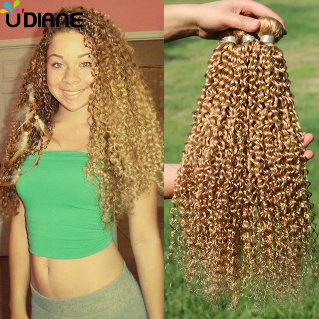 3pcs blonde peruvian curly hair extensions remy blonde curly human 3pcs blonde peruvian curly hair extensions remy blonde curly human hair weave strawberry color 27 long pmusecretfo Gallery