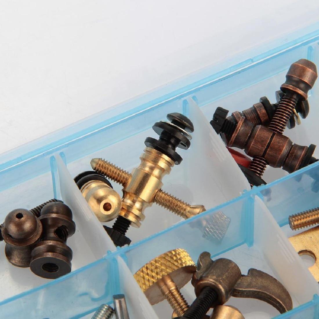 Tattoo Parts and Accessories Screws Kit for Machine Gun Performent Body Art DIY Supply set blue