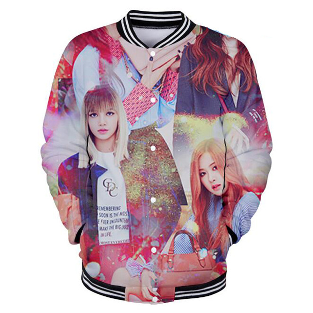 BLACKPINK THEMED 3D BASEBALL JACKET (7 VARIAN)