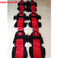 Sandwich Fabric Auto Seat Covers For Toyota Sienna Car Seat Cover Set Custom Fit Cover Seats