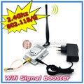 2 W 802.11b / g 2.4 GHz Amplificador Amplificador de sinal wi fi Repetidor wi fi Repetidor de sinal de banda larga sem fio Amplificador