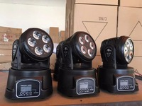 Hot sell LED Moving Head 5x18W RGBWA+UV 6 IN1 Wash LED Stage Lighting for Disco DJ Party Wedding Nightclub Show