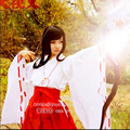 Inuyasha Kikyo/ Kikyou Cosplay Costume Japanese Anime Lolita Girls Halloween Party Costumes