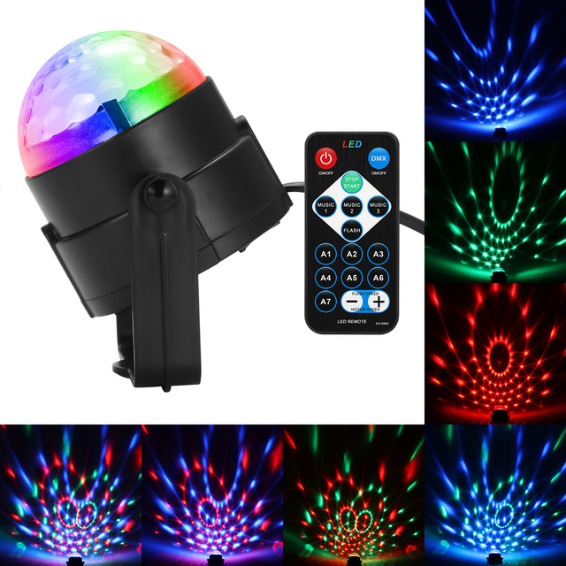 dj disco ball lumiere 3w sound activated laser projector rgb stage lighting effect lamp light music