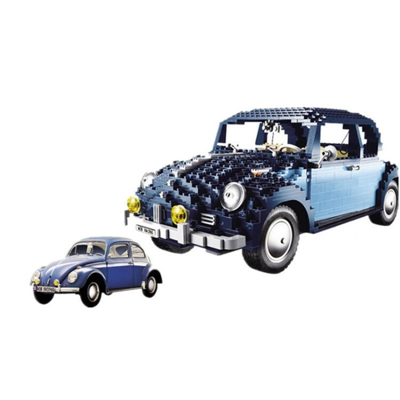 Lepin 21014 1707Pcs Classic Series The Ultimate Beetle Set car-styling Building Blocks Bricks Toys for children gifts new lepin 23015 science and technology education toys 485pcs building blocks set classic pegasus toys children gifts