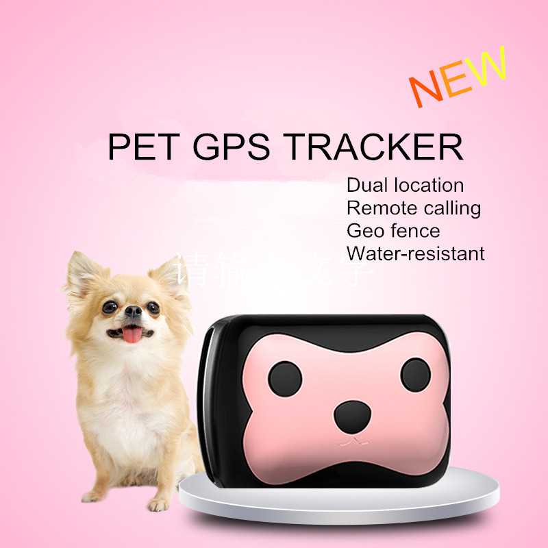 Protect your pet mini smart dog PET GPS tracker remote-voice monitor Android IOS system support ...