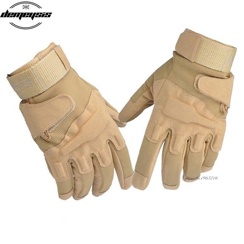 Bekleidung Handschuhe Sport im Freien Vollfinger Military Tactical Airsoft Jagd Handschuh Handschuhe
