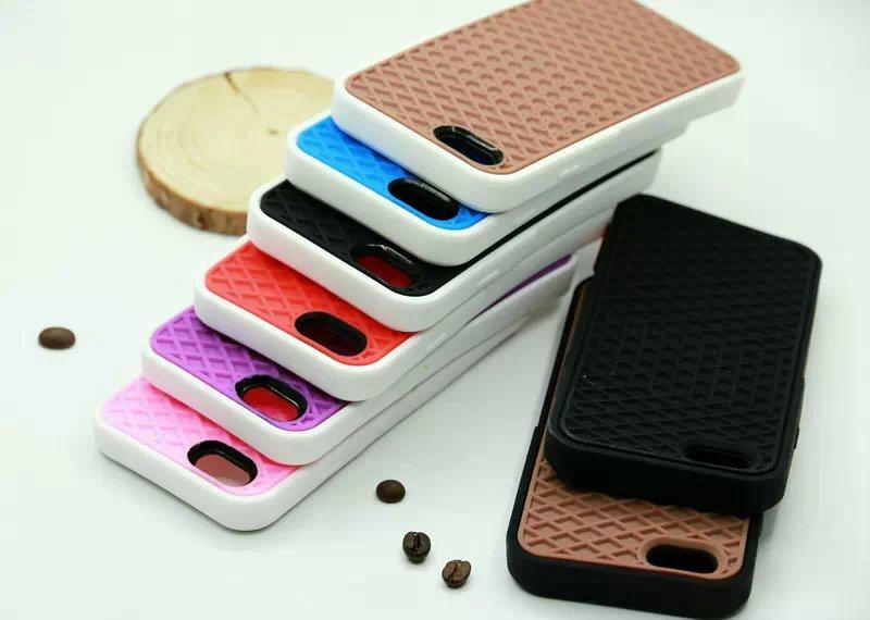 Suela Del Zapato de la Galleta de Silicona Suave Colorido de la marca Volver Caj