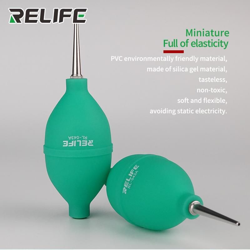 RELIFE RL-043A 2in1 Dust Ball Cleaning Pen Set Piece Suit Lens Air Blowing Cleaning Cloth Lens Brush For Camera