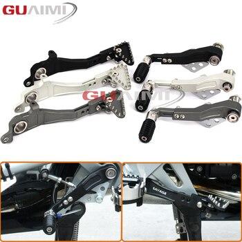 Motorcycle CNC Aluminum Adjustable Folding Footbrake Rear Shift Lever Shift Lever Pedal Le