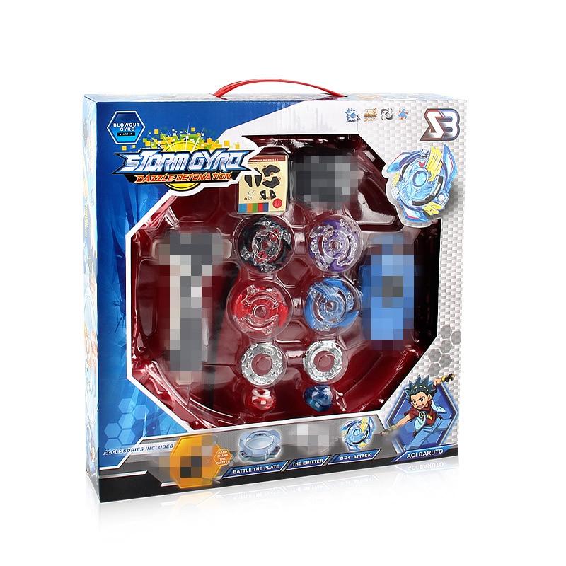 Nouveau Blayblade rafale génération bricolage Gyro ceinture compétitif Combat disque costume rafale Gyroscope jouet poignée lanceur Bayblade Arena ensemble