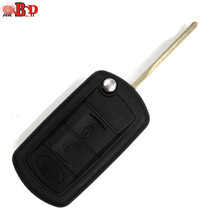 HKOBDII 10pcs,3 Buttons Flip Remote Car Key 315/433Mhz With 7935 Chip For Old Land Range Rover Discovery LR 3 EWS System