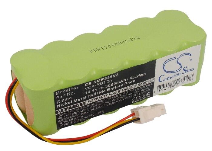 Batterie Cameron Sino pour Samsung SR8F40, SR8F51, TRD/SW, VCR8750, VCR8824, VCR8825