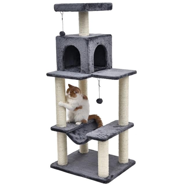 Cat Scratching Tree 4