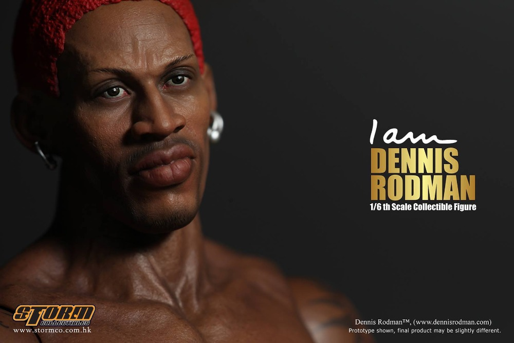 stormtoys 1/6 scale doll figure 12 Action figure doll Basketball Players Dennis rodman with 2 body ,3 head,Collectibles toys 1 76 scale model alexander dennis alx400 bodied volvo b7tl bus model ukbus0030
