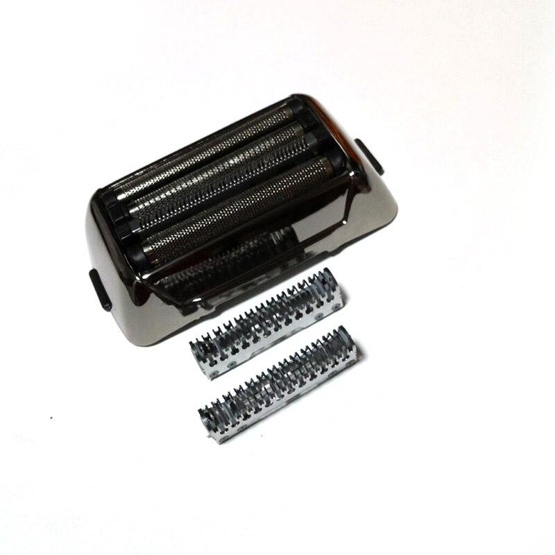 Kemei hoja de afeitar cabeza de afeitadora para hombres Afeitadora eléctrica KM-5568 hoja de afeitar Red Original barba afeitado piezas