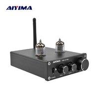 AIYIMA 6j1 Tube Preamplifier 5.0 Bluetooth Sound Amplifier Audio Amplificador Bile HIFI Preamp Treble Bass Adjustment