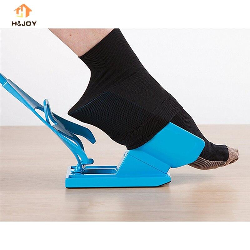 Fácil en 2018 fácil de calcetines auxilios calcetín ayudante Slider embarazo y lesiones vida herramienta