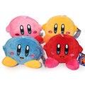 Bonito 12 cm Desenhos Animados Kirby Plush Toys Dolls Presente Para As Crianças 4 Cores