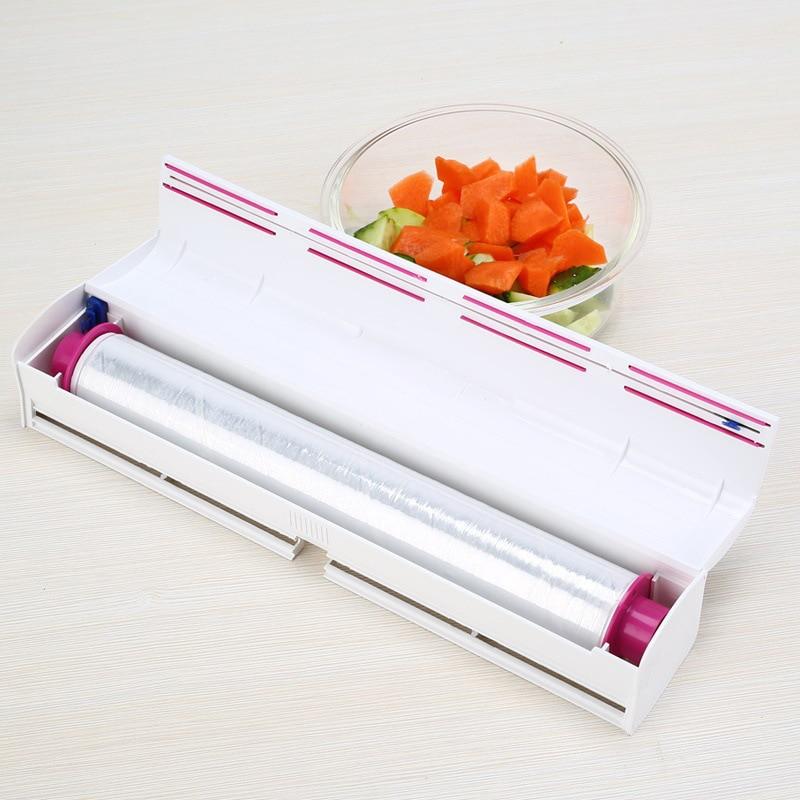 PVC műanyag csomagoló adagoló Cling élelmiszer csomagoló - Szervezés és tárolás