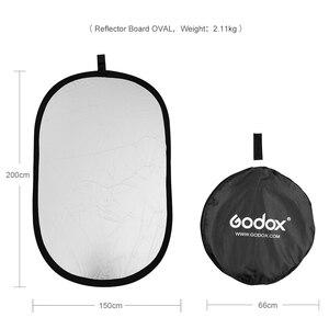 """Image 3 - Godox tablero reflector de fotografía portátil 5 en 1, 59 """"* 79"""", 150*200cm, plegable para estudio de fotografía"""