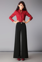 Autumn and winter casual pants wide leg pants