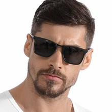 MIZHO Fashion Guy's Sun Glasses From Polarized Sunglasses Men Classic Design