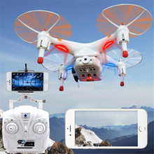 High Quqlity Cheerson CX-30w FPV Wifi G-sensor Control Quadcopter 4CH 6 Axis RC Drone with 0.3MP Camera Gift For Children