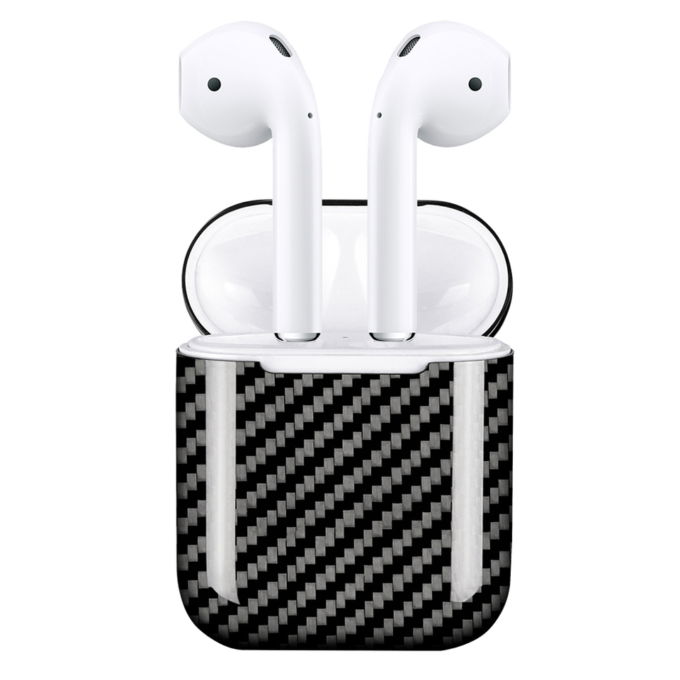 Monocarbon Genuine Carbon Fiber Case For Airpods 1 2 Wired
