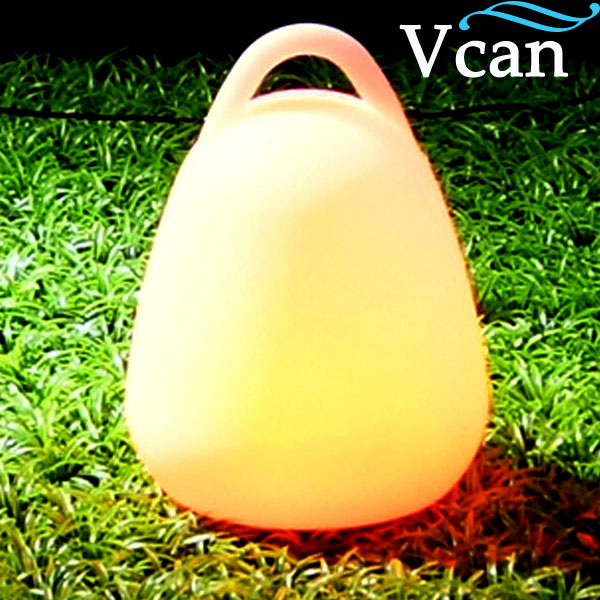 Colour Changing remote control outdoor garden decoration glowing flashing lamp hand light