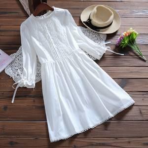 6eb584bd82 Alyaboomty Autumn Summer Women White Mini Dress Short