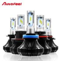 Autofeel 9005 9006 9007 H4 H7 H11 H13 Led Car Headlight Bulb Auto Front Fog Headlamp